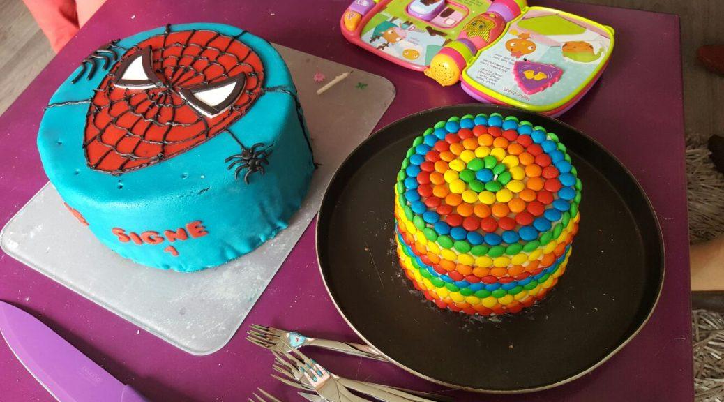 taart maken als traditie voor verjaardag van kinderen