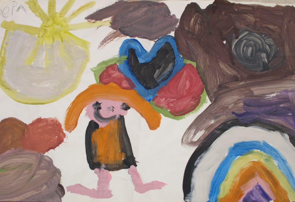 creatieve verwerkingsvormen schilderen verven tekenen symbooldrama dagdroomtherapie kinderen pubers jongeren