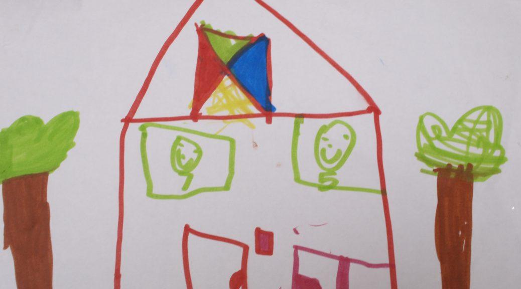 tijdelijk huren huurhuis verhuizen gezin drie kinderen klein wonen