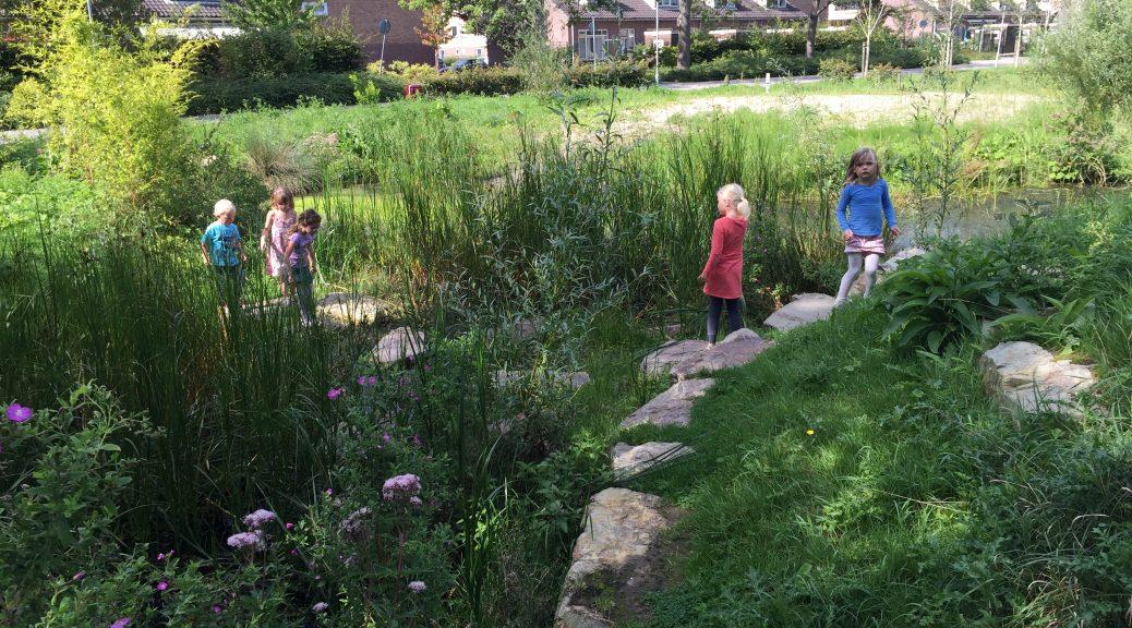 kinderfeestje low budget kleuters jonge kinderen natuurspeeltuin verjaardag