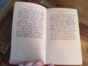 dagboek vijf jaren schrijven onthouden persoonlijk gezin kinderen moeder