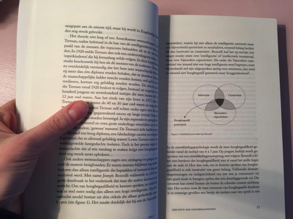 review recensie boek hoogbegaafd hoogbegaafdheid bij kinderen tessa kieboom