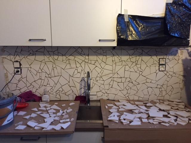 verbouwing wachtruimte wachtkamer praktijk keuken qooker quooker planning klussen frustratie teleurstelling volgorde gezin huis